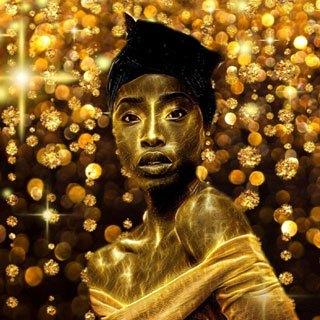 Golden Sparkles