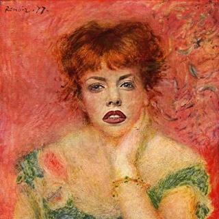 Jeanne Samary by Renoir