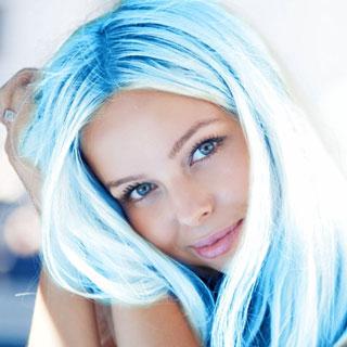 Dye My Hair Blue