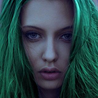 Dye My Hair Emerald