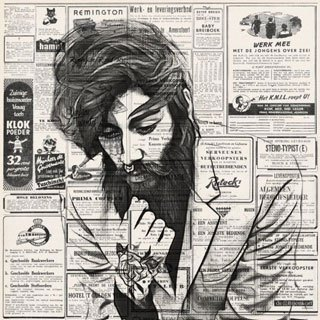 Newspaper Portrait
