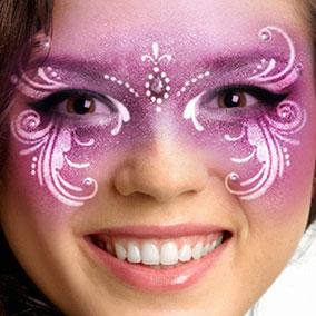 Venetian Mask Face Paint
