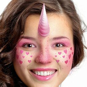 Lovely Unicorn Makeup
