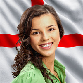 Flag Of England Background