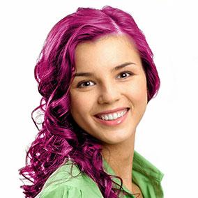 Dye My Hair Fuchsia