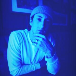 Blue Glow Effect