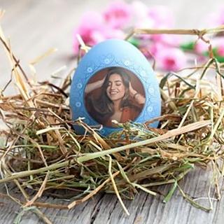 Easter Egg Photo Card