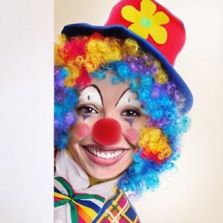 Clown Face in Hole