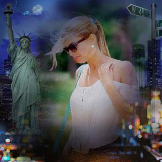 New York Photo Background