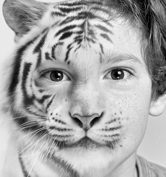 Half Human Half Tiger