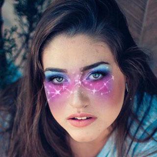 Milky Way Eye Makeup