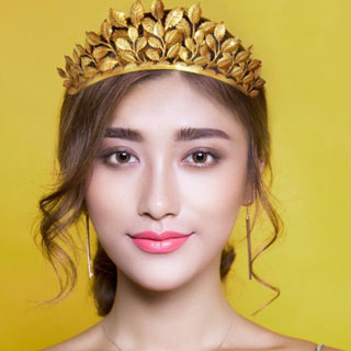 Golden Leaf Crown