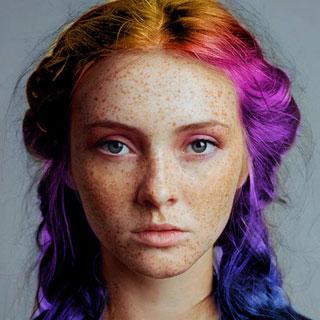 Dye My Hair Rainbow