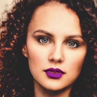 Vibrant Violet Lipstick