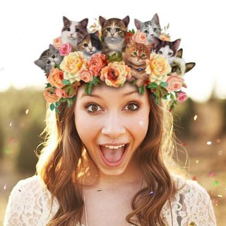 Cats N Roses Crown