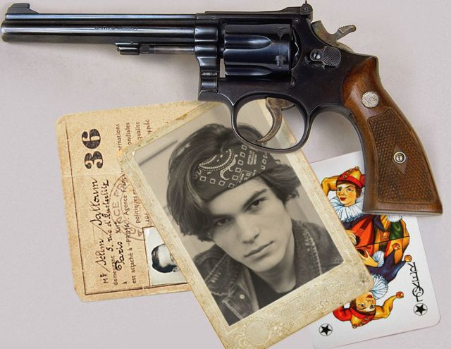 Gun and Cards